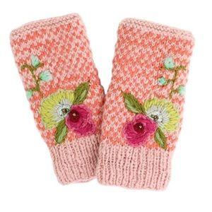 NWT Hand Warmer French Knot Lindsay Mason
